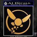 Legend of Zelda Navi Fairy Vinyl Decal Metallic Gold Vinyl Vinyl 120x120