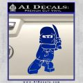 Lego Ninja Ninjago DLB Decal Sticker Blue Vinyl 120x120