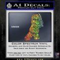 Lego Ninja Ninjago DLB Decal Sticker Sparkle Glitter Vinyl 120x120
