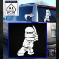 Lego Ninja Ninjago DLB Decal Sticker White Emblem 120x120