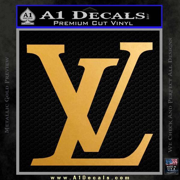 Louis Vuitton Logo D3 Decal Sticker » A1 Decals
