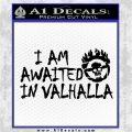 Mad Max Fury Road Valhalla Decal Sticker Black Logo Emblem 120x120