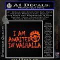 Mad Max Fury Road Valhalla Decal Sticker Orange Vinyl Emblem 120x120