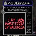 Mad Max Fury Road Valhalla Decal Sticker Pink Vinyl Emblem 120x120