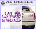 Mad Max Fury Road Valhalla Decal Sticker Purple Vinyl 120x97