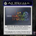 Mad Max Fury Road Valhalla Decal Sticker Sparkle Glitter Vinyl 120x120