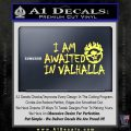 Mad Max Fury Road Valhalla Decal Sticker Yelllow Vinyl 120x120