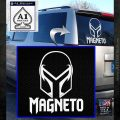 Magneto Helmet D1 Decal Sticker White Emblem 120x120
