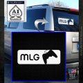 Major League Gaming Decal Sticker White Emblem 120x120