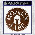 Molon Labe Come And Take Them s Decal Sticker Brown Vinyl 120x120