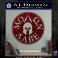 Molon Labe Come And Take Them s Decal Sticker Dark Red Vinyl 120x120