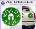 Molon Labe Come And Take Them s Decal Sticker Green Vinyl 120x97