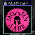 Molon Labe Come And Take Them s Decal Sticker Hot Pink Vinyl 120x120