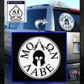 Molon Labe Come And Take Them s Decal Sticker White Emblem 120x120