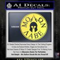 Molon Labe Come And Take Them s Decal Sticker Yelllow Vinyl 120x120