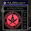 Molon Labe Come Take It CR2 Decal Sticker Pink Vinyl Emblem 120x120