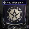Molon Labe Come Take It CR2 Decal Sticker Silver Vinyl 120x120