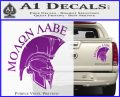 Molon Labe Spartan Decal Sticker INT Purple Vinyl 120x97