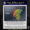 Molon Labe Spartan Decal Sticker INT Sparkle Glitter Vinyl 120x120