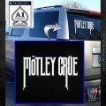 Motley Crue Band Vinyl Decal Sticker White Emblem 120x120