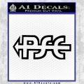 PSE Archery Decal Sticker D2 Black Logo Emblem 120x120