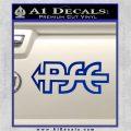 PSE Archery Decal Sticker D2 Blue Vinyl 120x120