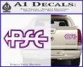PSE Archery Decal Sticker D2 Purple Vinyl 120x97