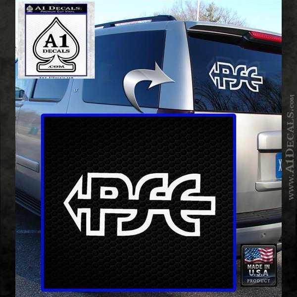 PSE Archery Decal Sticker D2 White Emblem