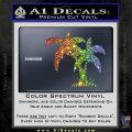 Palm Trees Decal Sticker D16 Sparkle Glitter Vinyl 120x120
