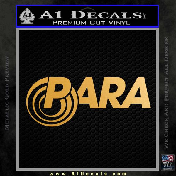 Para Firearms Decal Sticker Handguns Metallic Gold Vinyl Vinyl