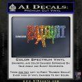 Patriot AR 15 Decal Sticker DW Sparkle Glitter Vinyl 120x120