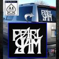 Pearl Jam Rock Band SQ Decal Sticker White Emblem 120x120
