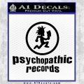 Psychopathic Records Decal Sticker ICP Black Logo Emblem 120x120
