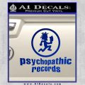 Psychopathic Records Decal Sticker ICP Blue Vinyl 120x120