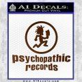 Psychopathic Records Decal Sticker ICP Brown Vinyl 120x120