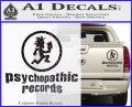 Psychopathic Records Decal Sticker ICP Carbon Fiber Black 120x97