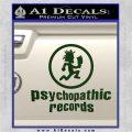 Psychopathic Records Decal Sticker ICP Dark Green Vinyl 120x120