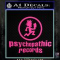 Psychopathic Records Decal Sticker ICP Hot Pink Vinyl 120x120