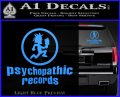 Psychopathic Records Decal Sticker ICP Light Blue Vinyl 120x97