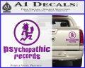 Psychopathic Records Decal Sticker ICP Purple Vinyl 120x97