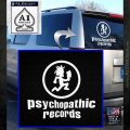 Psychopathic Records Decal Sticker ICP White Emblem 120x120