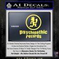Psychopathic Records Decal Sticker ICP Yelllow Vinyl 120x120