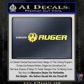 RUGER FIREARMS VINYL DECAL STICKER Yelllow Vinyl 120x120