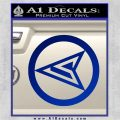 Red Arrow Speedy Roy Harper emblem DLB Decal Sticker Blue Vinyl 120x120