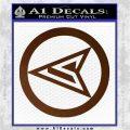Red Arrow Speedy Roy Harper emblem DLB Decal Sticker Brown Vinyl 120x120