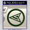 Red Arrow Speedy Roy Harper emblem DLB Decal Sticker Dark Green Vinyl 120x120