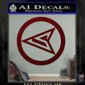 Red Arrow Speedy Roy Harper emblem DLB Decal Sticker Dark Red Vinyl 120x120