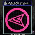 Red Arrow Speedy Roy Harper emblem DLB Decal Sticker Hot Pink Vinyl 120x120