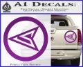Red Arrow Speedy Roy Harper emblem DLB Decal Sticker Purple Vinyl 120x97