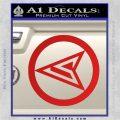 Red Arrow Speedy Roy Harper emblem DLB Decal Sticker Red Vinyl 120x120
